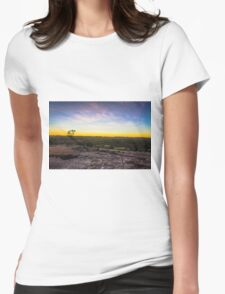 Heywoods Sunset Womens Fitted T-Shirt