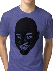 The Oily Spicy Chef (Ainsley Harriott [harriot]) Tri-blend T-Shirt