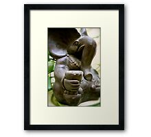 1/365 Remover of Obstacles Framed Print