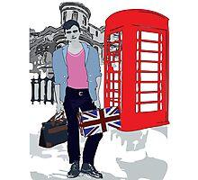 London street fashion Photographic Print