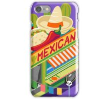 Mexican Taco Food Truck iPhone Case/Skin