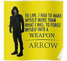 Arrow - Survive. Poster