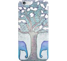 Elephant twins iPhone Case/Skin