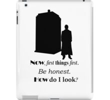 Doctor who - Ten's quote iPad Case/Skin