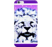 Lion roars iPhone Case/Skin