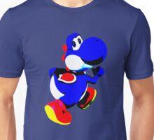 Blue Yoshi MInimalist Unisex T-Shirt
