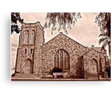 Downtown Congregation Canvas Print