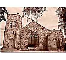 Downtown Congregation Photographic Print