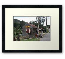 Wood's Point - Shell Servo Framed Print