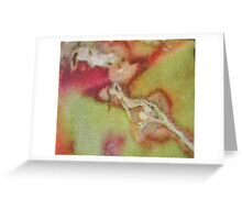 leaf lady - natural world gallery Greeting Card
