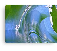 blue city - natural world - fantasy Canvas Print