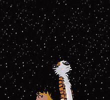 Calvin & Hobbes by enrigabbiadini