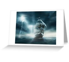 True sailing Greeting Card