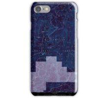USGS Topo Map Oregon Groundhog Mountain 280110 1997 24000 Inverted iPhone Case/Skin