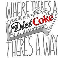Diet Coke Photographic Print
