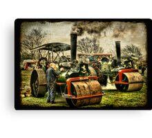 The Steam Rally Canvas Print