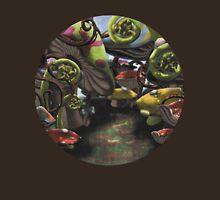 Wonderland Toadstool and Fern Forest Unisex T-Shirt