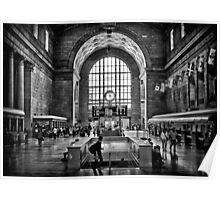 Toronto Union Station 3:23PM Poster