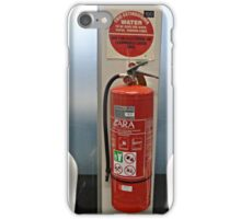 Fire Extinguisher in the Bank iPhone Case/Skin