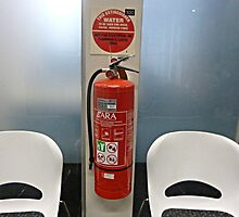 Fire Extinguisher in the Bank by EdsMum