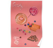 Pink Candy Poster