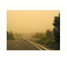 Drought Conditions Art Print