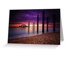 West Pier Brighton Greeting Card