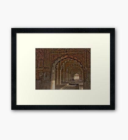 Deewan E Aam (Red Fort- Delhi) Framed Print