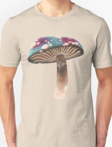 Purple and Blue Spotted Toadstool T-Shirt