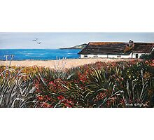 Seaview Cottage Photographic Print