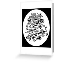 Bits and pieces Greeting Card