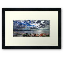 Cruz Quebrada. Oeiras Framed Print