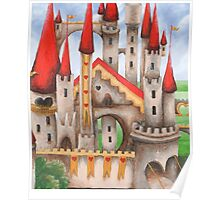 Hearts and Turrets Poster