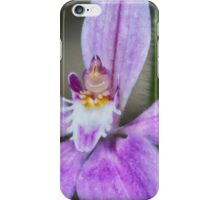 Pink Fairy Orchid iPhone Case/Skin