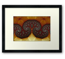 Geometric Patterns No. 35 Framed Print