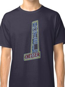 Hotel Chelsea Legends Typography Classic T-Shirt