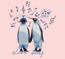 King Penguin's Love Song One Piece - Long Sleeve