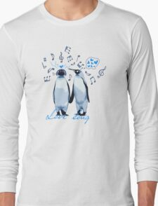 King Penguin's Love Song Long Sleeve T-Shirt