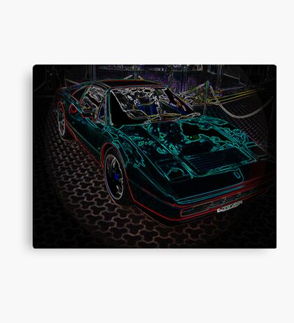 Ferrari! Canvas Print