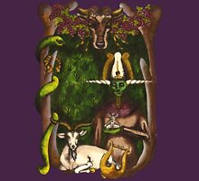 Horned Gods: Osiris, Dionysus, Pashaputi, Cernunnos, Pan Unisex T-Shirt