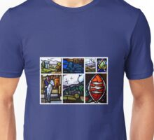 The Old Parish Church of Peebles ~ Stained Glass Windows Unisex T-Shirt