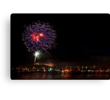 Fort Scratchley - the works Canvas Print