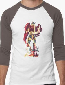 Optimus Glance Men's Baseball ¾ T-Shirt