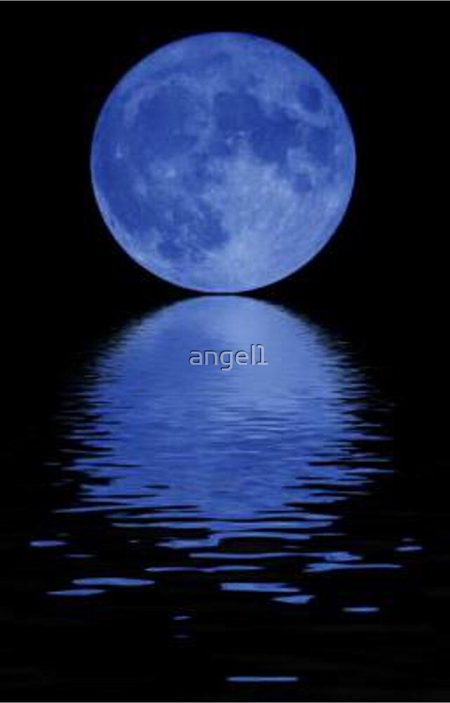 Blue Moon  by ©The Creative  Minds