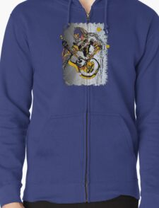 The Psychedelic 60's Zipped Hoodie