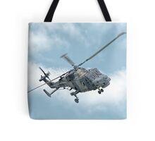 Royal Navy Black Cats Lynx Wildcat HMA2 Tote Bag