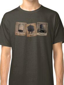 New York Water Tower Polaroids Classic T-Shirt