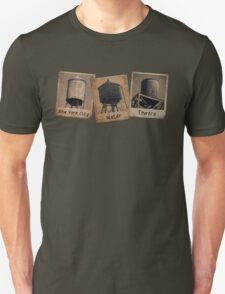 New York Water Tower Polaroids T-Shirt
