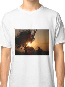 Silhouette Sunset Classic T-Shirt