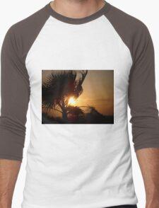 Silhouette Sunset Men's Baseball ¾ T-Shirt